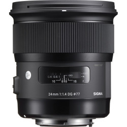Sigma 24mm f/1.4 DG HSM Art Lente para cámaras Canon Full Frame DSLR