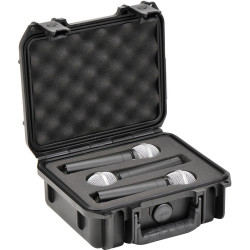 SKB 0907-MC3 Maleta impermeable para tres micrófonos