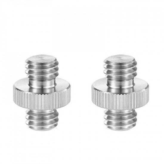 SmallRig 1065 Adaptadores (2) macho de 3/8  a 3/8 spigot