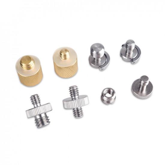 "SmallRig 1074 Kit de Pernos de 1/4"" + 3/8"" Screw Pack"