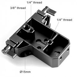 SmallRig 1674 Base pequeña para rods 15mm