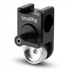Smallrig 2001 Abrazadera de Rods con sistema de locación Arri de 2 puntos