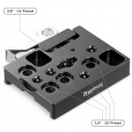 SmallRig 2143 Plate Receptor Drop-In Arca-Swiss (sin galleta)