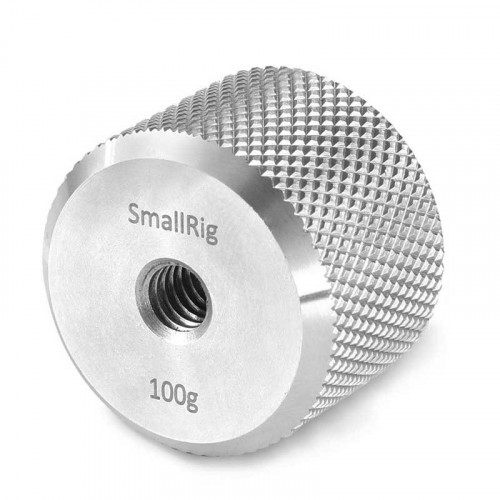 SmallRig 2284 Contrapeso 100g para DJI Ronin-S / Ronin-SC y Zhiyun Gimbals