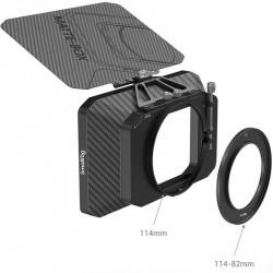 SmallRig 2660 MatteBox Compact 2 Filtros Rods + Adaptadores de lente