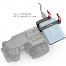 SmallRig 2767 Soporte de agarre para Samsung T5 SSD Dark Olive