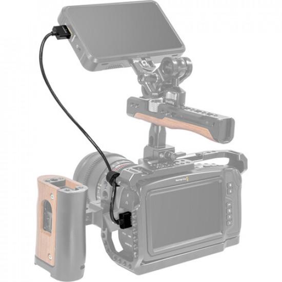 SmallRig 2956 Ultra delgado Cable HDMI 4K@60 corto de 35cm