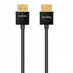SmallRig 2957 Ultra delgado Cable HDMI 4K@60 de 55cm