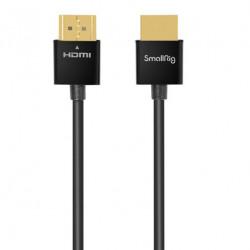 SmallRig 2957 Ultra delgado Cable HDMI 4K@60 de 55cm