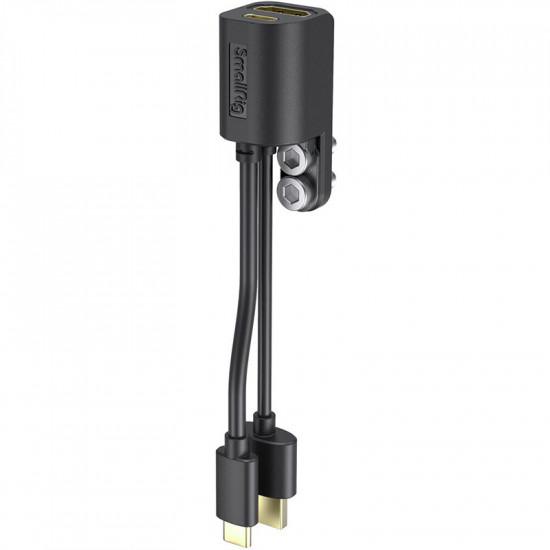 SmallRig 2960 Adaptador HDMI y USB C para Cages Pocket Cameras