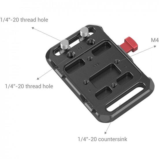 SmallRig 2987 Mini Plate de agarre para V-Lock / V-Mount