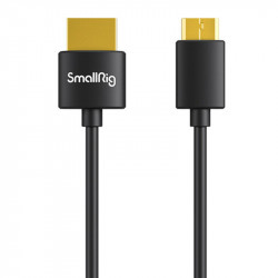 SmallRig 3040 Ultra delgado Cable Mini HDMI a HDMI 4K@60 corto de 35cm
