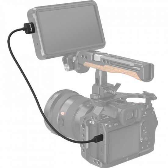 SmallRig 3043 Ultra delgado Cable Micro HDMI a HDMI 4K@60 corto de 55cm