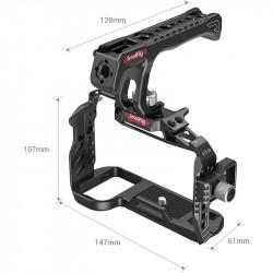 SmallRig 3181 Sony A7S III Cage / Jaula con agarre Pro & Clamp HDMI