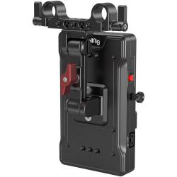 SmallRig 3204 Placa V-Mount para rods 15mm