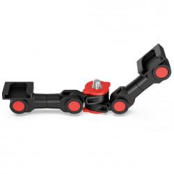 SmallRig 3483 Barra de extension de zapata fría con rotación 360 (cold shoe)