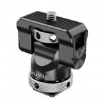 SmallRig BSE2346 Soporte de monitor HotShoe para Cage con base giratoria