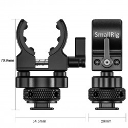 SmallRig BSM2352 Soporte para micrófonos con zapata