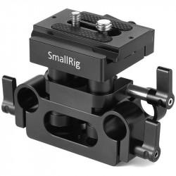 SmallRig DBC2272B Placa Compacta de soporte de rieles Rods de 15 mm