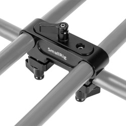 SmallRig DCD2374 Abrazadera de rods 90 doble a individual 15mm