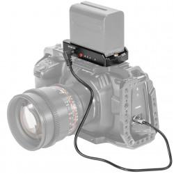 SmallRig EB2698Placa Adapter Batería NP-F para cámaras Pocket 4K y 6K