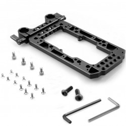 SmallRig 1547 Battery Back Plate con rods de 15mm