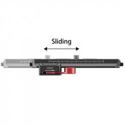 SmallRig 2403 Kit a ajuste lateral para Ronin S / Crane 2 / Moza Air 2