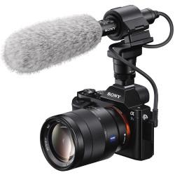 Sony ECMCG60 Micrófono Tipo boom direccional con 3.5mm