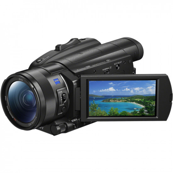 "Sony FDR-AX700 4K con HDR Sensor Exmor RS 1"""