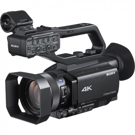 "Sony HXR-NX80 4K NXCAM con HDR Sensor Exmor RS 1"""