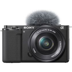 Sony ZV-E10 Sensor APS-C 24.2MP con lente 16-50mm