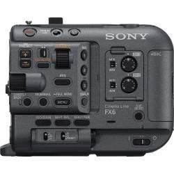 Sony FX6 Cámara de cine Full Frame Sensor Exmor R CMOS 4K (solo cuerpo)