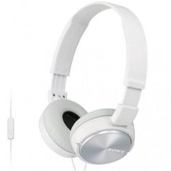Sony MDR-ZX310AP ZX Series Audífonos (blanco)