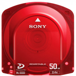Sony PFD50DLA Disco óptico regrabable de 50 GB
