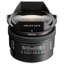 Sony SAL16F28 Ojo de Pez 16mm f/2.8 A-Mount