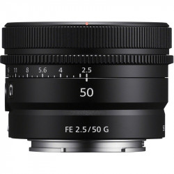 Sony SEL50F25G Lente Compact Prime FE 50 mm F/2.5 G