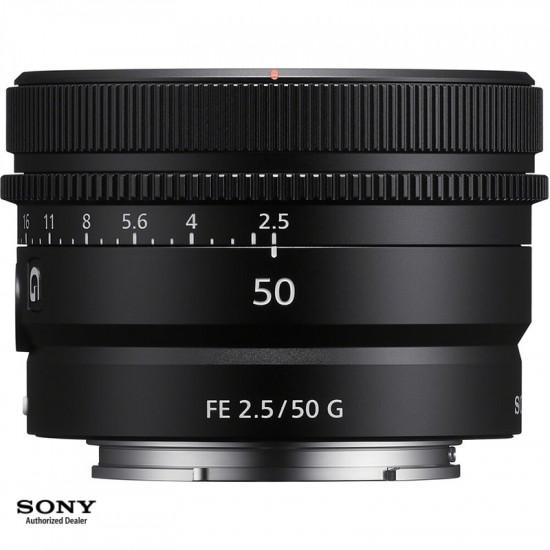 Sony Conjunto Lentes  Compact Prime 24 40 y 50mm