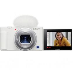 Sony ZV-1-W Cámara digital para Vloggers e influencers 4K (blanca)