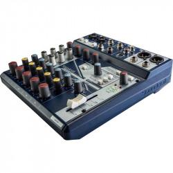 Soundcraft Notepad-8FX Consola Compacta de Audio de 8 Canales / 2 Mic + 4 Linea 1/4 + 2 RCA