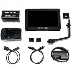 """SmallHD FOCUS Camera-Top Monitor 5"""" Touchscreen Micro HDMI en kit"""