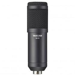 Tascam TM70 Micrófono dinámico Podcast Style