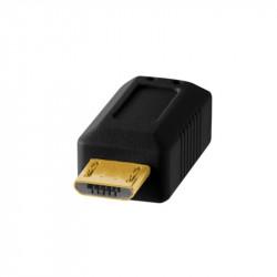 Tether Tools CU5430BLK Cable USB 2.0 A Male a Micro-B 5-Pin de 4.60mts Black