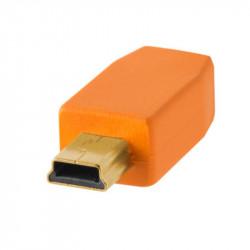 Tether Tools CU5451 Cable USB 2.0 a Mini-B 5-Pin de 4.60mts