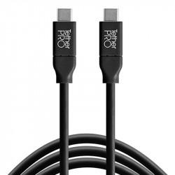 Tether Tools CUC03-BLK Cable USB-C a USB-C de 90 cm (color negro)