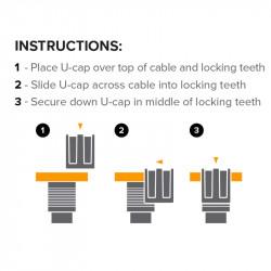 Tether Tools JS011 JerkStopper Tethering Agarre de cable adjustable