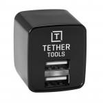 Tether Tools Dual Version US USB a AC adaptador de pared  Solid 2.1A (US Version)