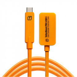 Tether Tools TBPRO3-ORG Cable USB-C  TetherBoost Pro USB-C Core 4.6mts