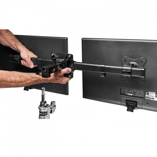 Tether Tools VADPT10 Soporte de monitor Dual VESA Rock Solid