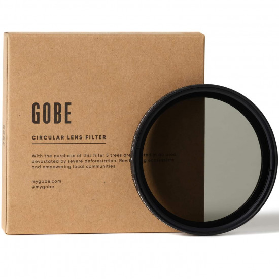 Gobe 2Peak Filtro ND2 Variable 72mm Neutral Density 1 a 8.66 Stops