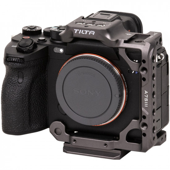 Tilta TA-T18-HCC  Half Cage para Sony a7S III  Series (Tactical Grey)